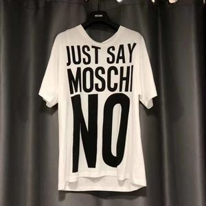 Moschino Just Say Moschino Tee